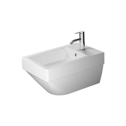 Duravit Vero Air wall Bidet 2274150000 white with overflow with tap hole